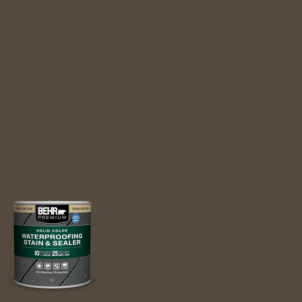 Behr Premium 8 Oz Sc 103 Coffee Solid Color
