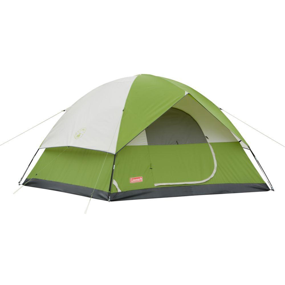 Coleman Instant Sundome 6-Person Dome Tent