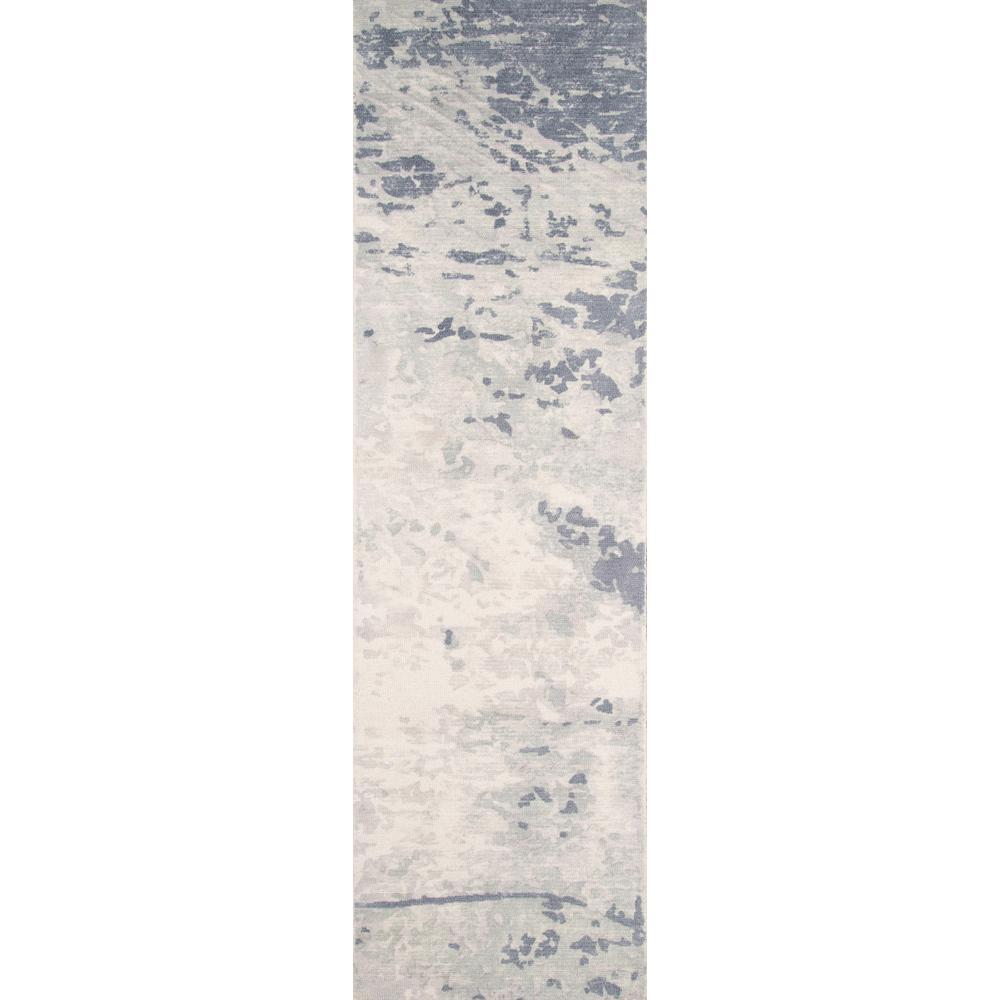 Momeni Illusions Blue 2 ft. x 8 ft. Indoor Runner Rug