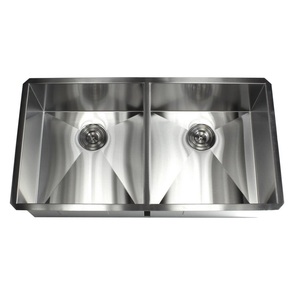 Kingsman Hardware Undermount 37 in. x 20 in. x 10 in. Deep Stainless on lowes kitchen sinks, stainless steel kitchen sinks, single bowl kitchen sinks, granite kitchen sinks, ceramic kitchen sinks, undermount sinks 60 40, solid surface kitchen sinks, stone sinks, smart divide kitchen sinks, overmount kitchen sinks, black kitchen sinks, farm kitchen sinks, antique kitchen sinks, elkay sinks, swanstone kitchen sinks, kohler kitchen sinks, american standard kitchen sinks, home depot undermount sinks, inset kitchen sinks, farmhouse kitchen sinks,