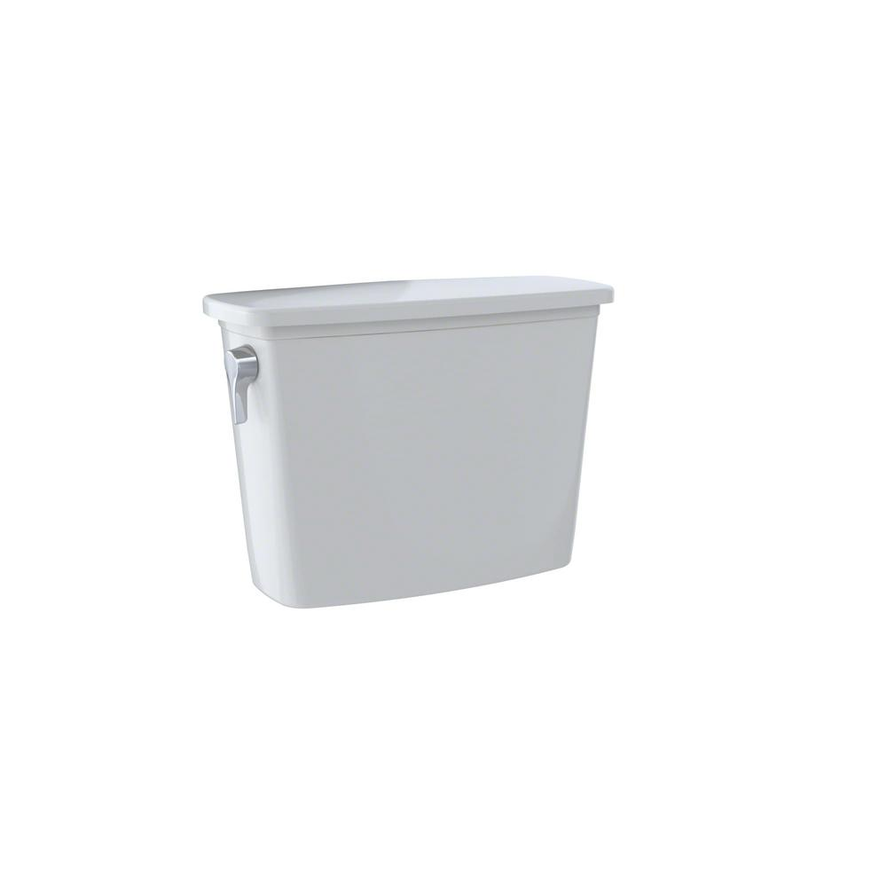 Drake 1.28 GPF Single Flush Toilet Tank Only in Colonial White