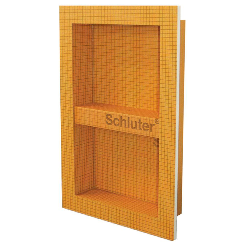 Schluter Kerdi Board Sn 12 In X 20 In Shower Niche