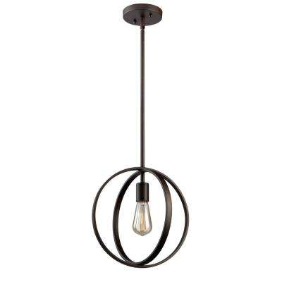1-Light Oil Rubbed Bronze Pendant