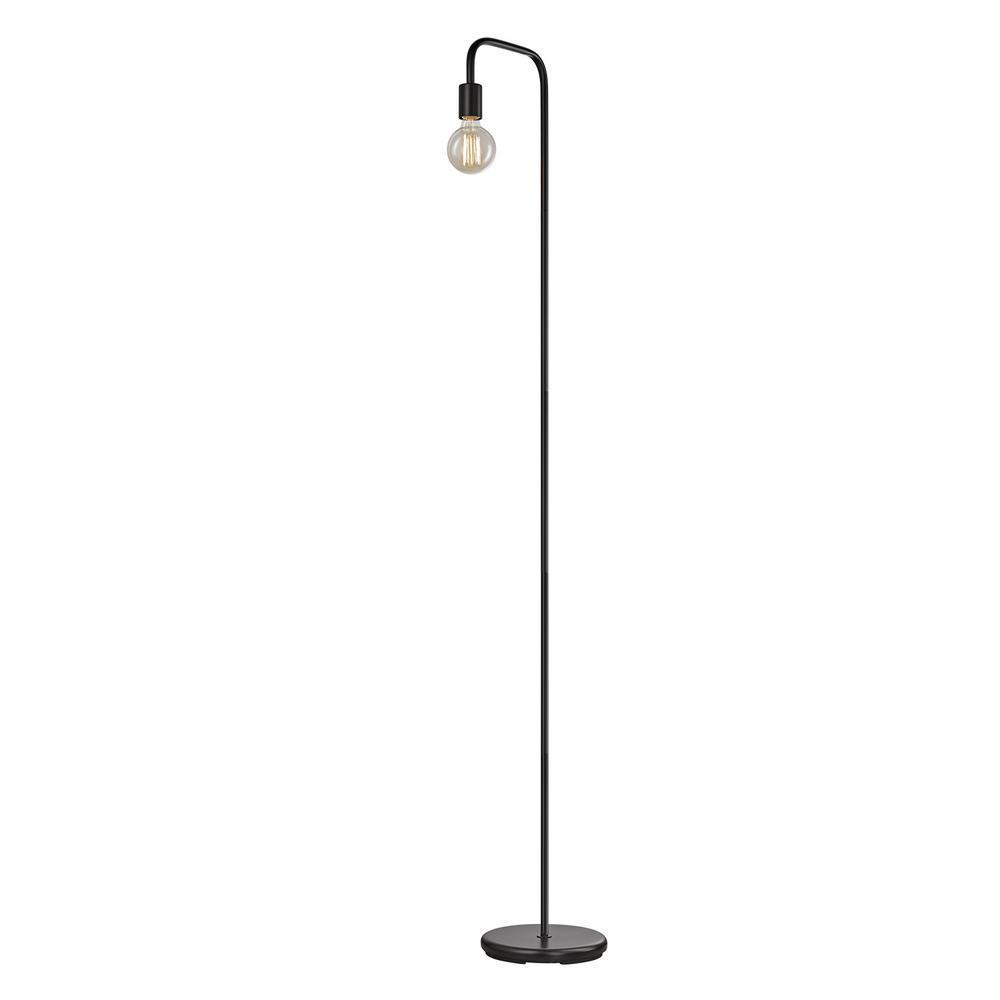 Globe Electric Holden 70 in. Black Indoor Floor Lamp-12937 - The ...