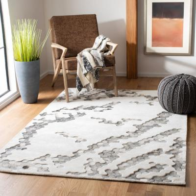 Manhattan Ivory 5 ft. x 8 ft. Area Rug