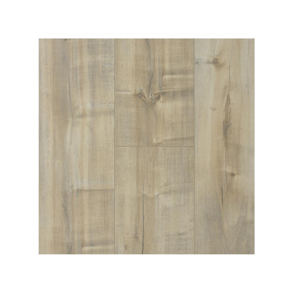 Take Home Sample - Ash 12 mm Laminate Flooring 7.68 in. W x 8 in. L
