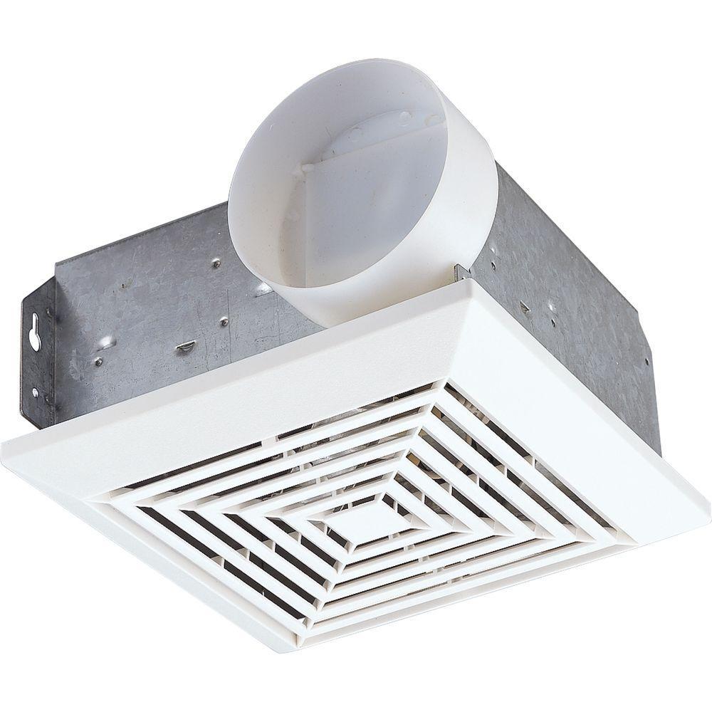 Progress Lighting White 70 cfm Ventilation Fan-DISCONTINUED