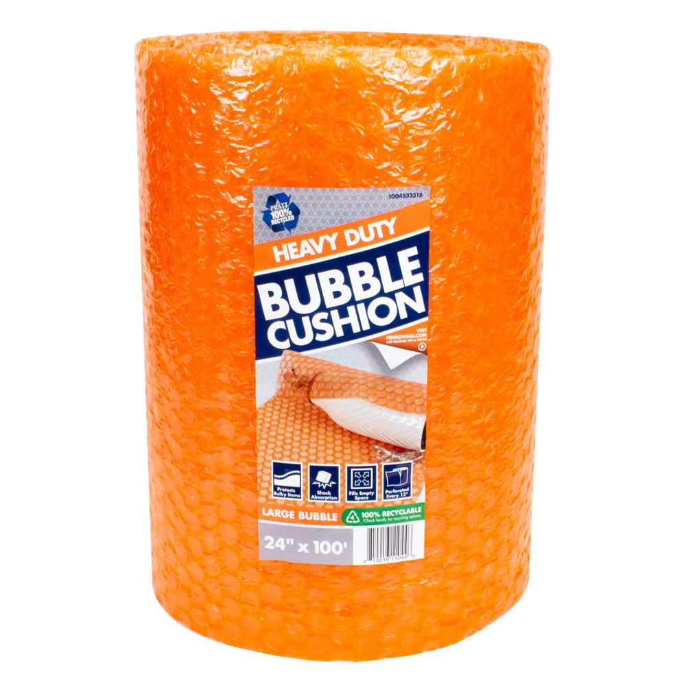 Pratt Retail Specialties 5/16 in. x 24 in. x 100 ft. Perforated Bubble Cushion Wrap