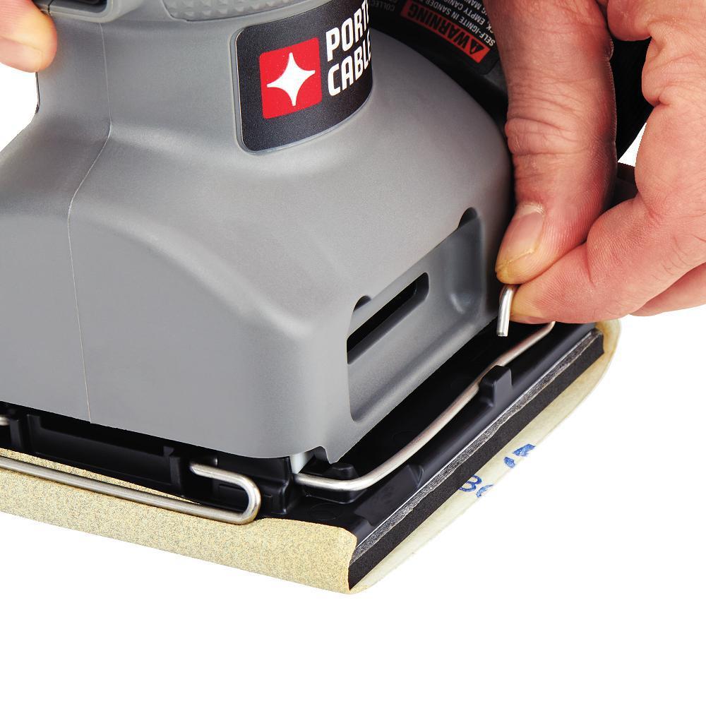 PORTER-CABLE 340K 2 Amp 1//4 Sheet Palm Grip Sander