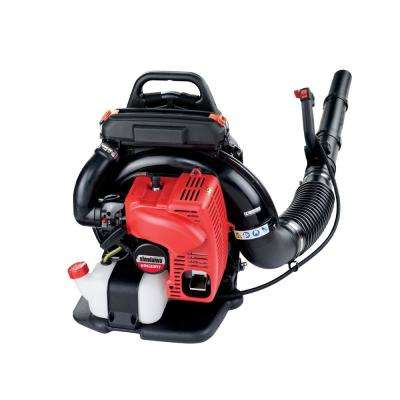 233 MPH 651 CFM 63.3 cc Gas 2-Stroke Cycle Backpack Leaf Blower with Tube Throttle