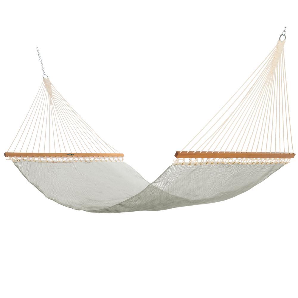 13 ft. Large Sunbrella Textilene Hammock in Framework Seaglass by