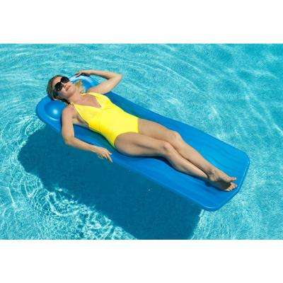 1.25 in. Thick Marquis Blue Pool Float