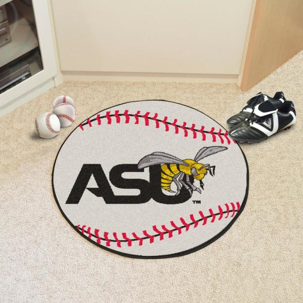 FANMATS NCAA Alabama State University Hornets Nylon Face Carpet Car Mat