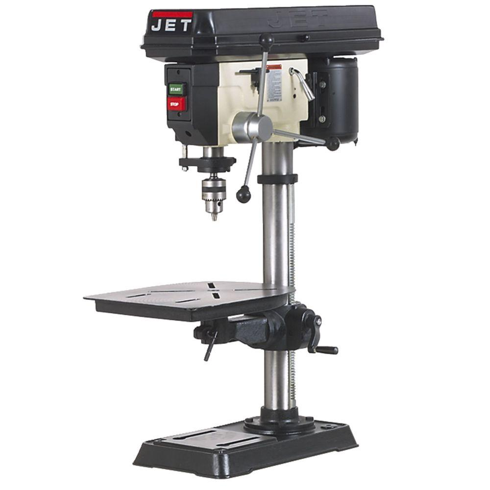 JET 15 in. 16-Speed Woodworking Bench Top Drill Press