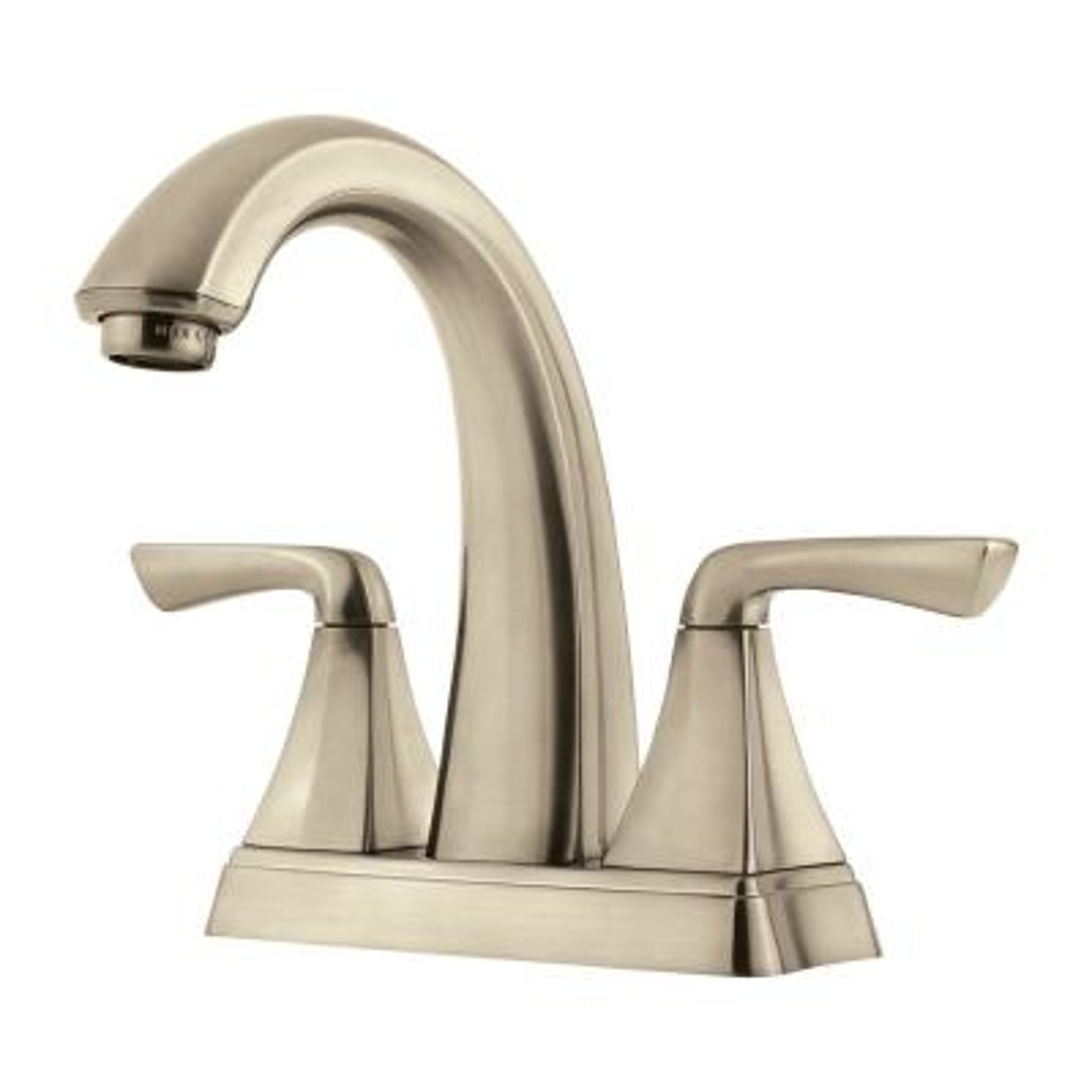 Selia 4 in. Centerset 2-Handle Bathroom Faucet in Brushed Nickel