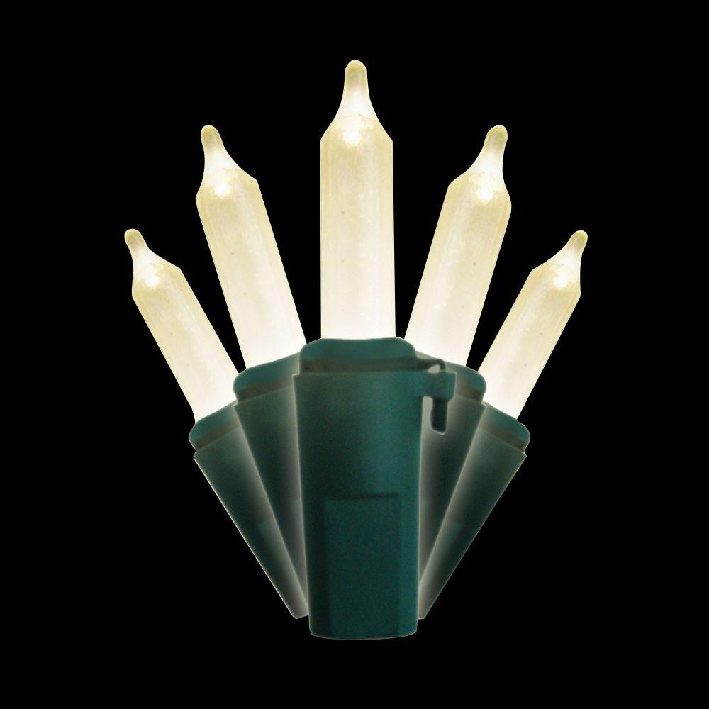 Brite Star 50-Light Warm White Glow Traditional Mini Light Set