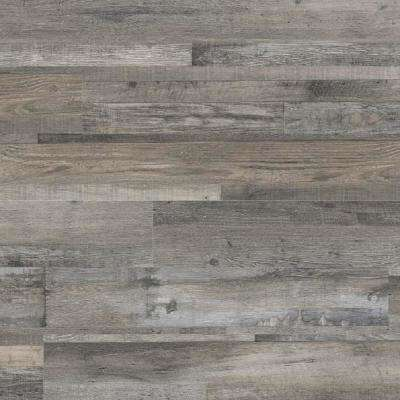 Woodlett Outerbanks Grey 6 in. x 48 in. Glue Down Luxury Vinyl Plank Flooring (36 sq. ft. / case)
