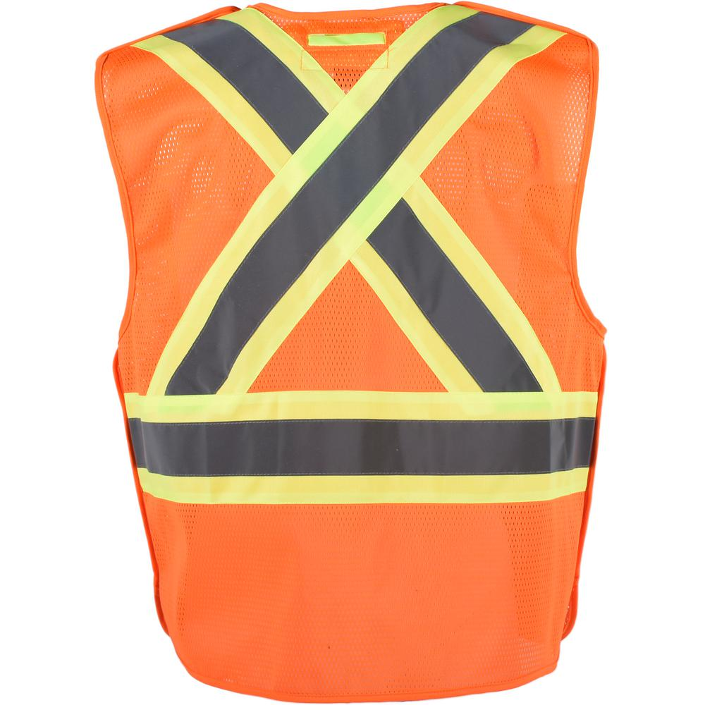 in your choice of sizes High Visibility Class III Vest 5 Point Tear Away