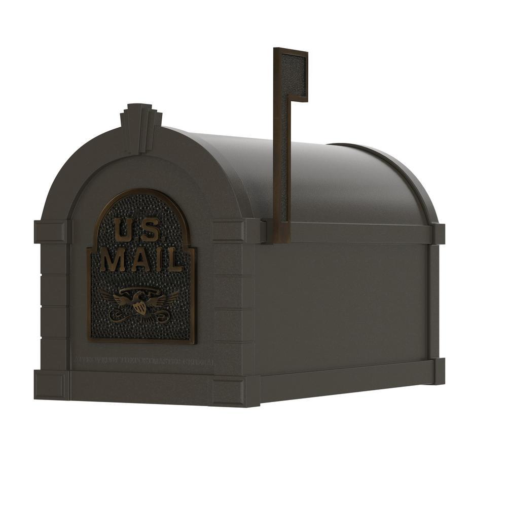 Gaines KS-20A Eagle Keystone Series Mailboxes Bronze//Antique Bronze