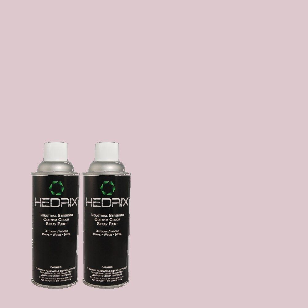 Hedrix 11 oz. Match of PPOC-61 Rising Violet Gloss Custom Spray Paint (2-Pack)