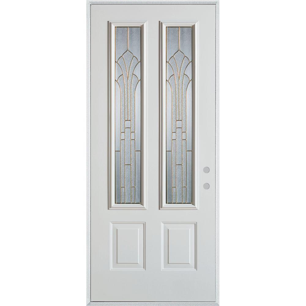 Stanley Doors 33.375 in. x 82.375 in. Art Deco 2 Lite 2-Panel  sc 1 st  Home Depot & Stanley Doors 33.375 in. x 82.375 in. Art Deco 2 Lite 2-Panel ... pezcame.com