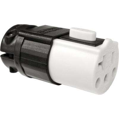 20 Amp Stay Plugged Cord Replacement End