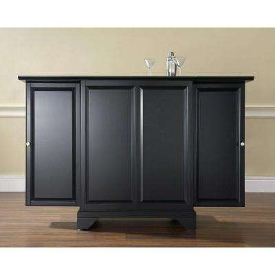 LaFayette Black Bar with Expandable Storage