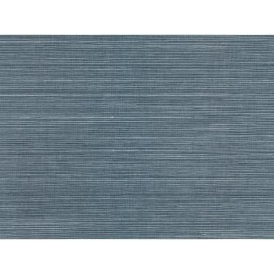 Lamphu Blue Grasscloth Wallpaper Grass Cloth Peelable Wallpaper (Covers 72 sq. ft.)