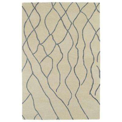 Casablanca Ivory 9 ft. 6 in. x 13 ft. 6 in. Area Rug