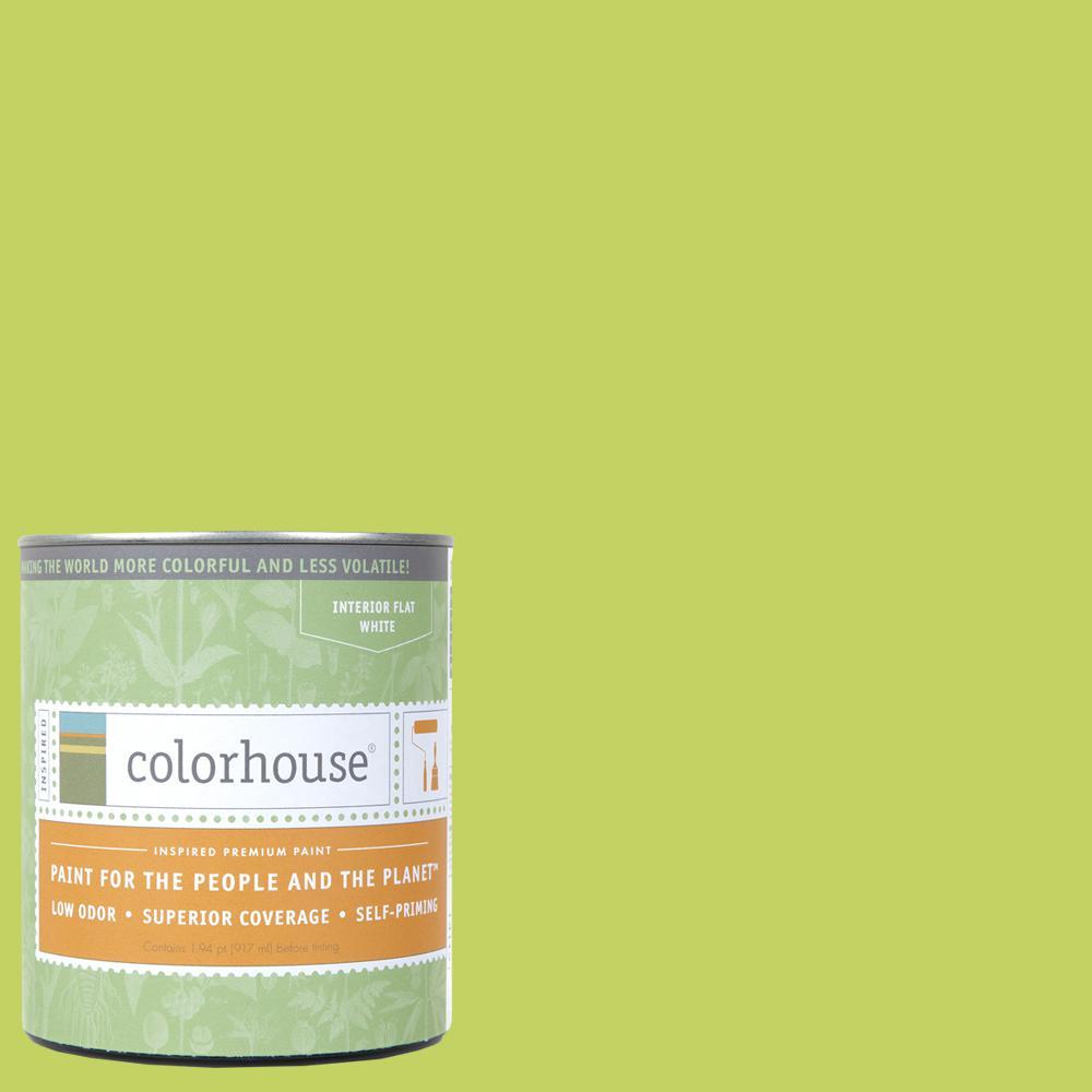 1 qt. Petal .02 Flat Interior Paint