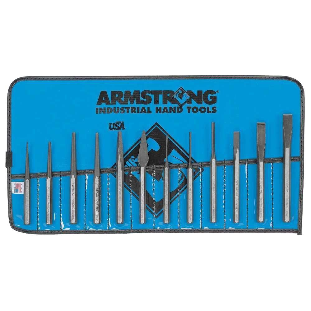 Armstrong Punch and Chisel Set (12-Piece)