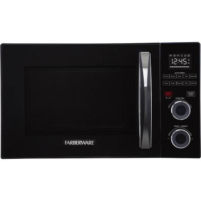 Farberware Gourmet 1.0 Cu. Ft. 1000 Watts Black Microwave with Air Fry, Grill, and Convection