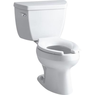 Wellworth Classic 2-piece 1.0 GPF Single Flush Elongated Toilet in White