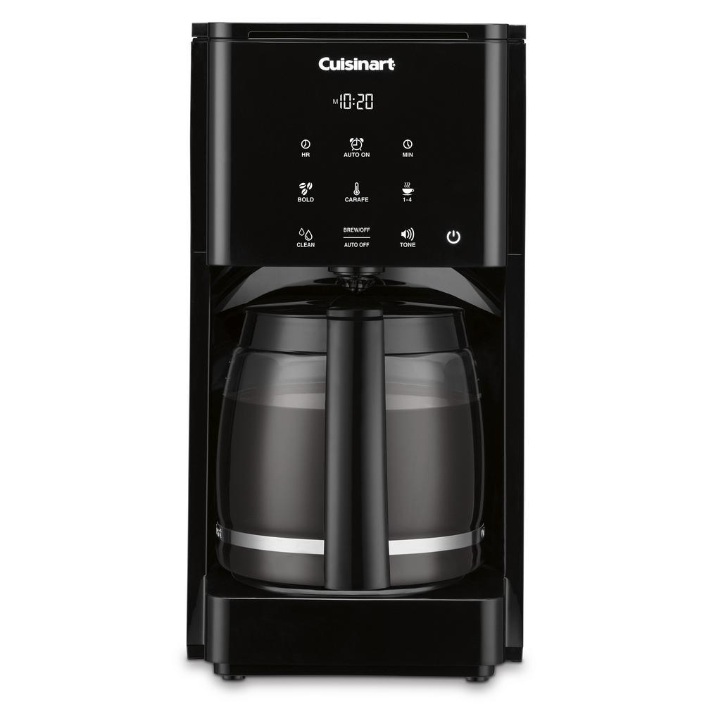 14-Cup Touchscreen Black Drip Coffee Maker