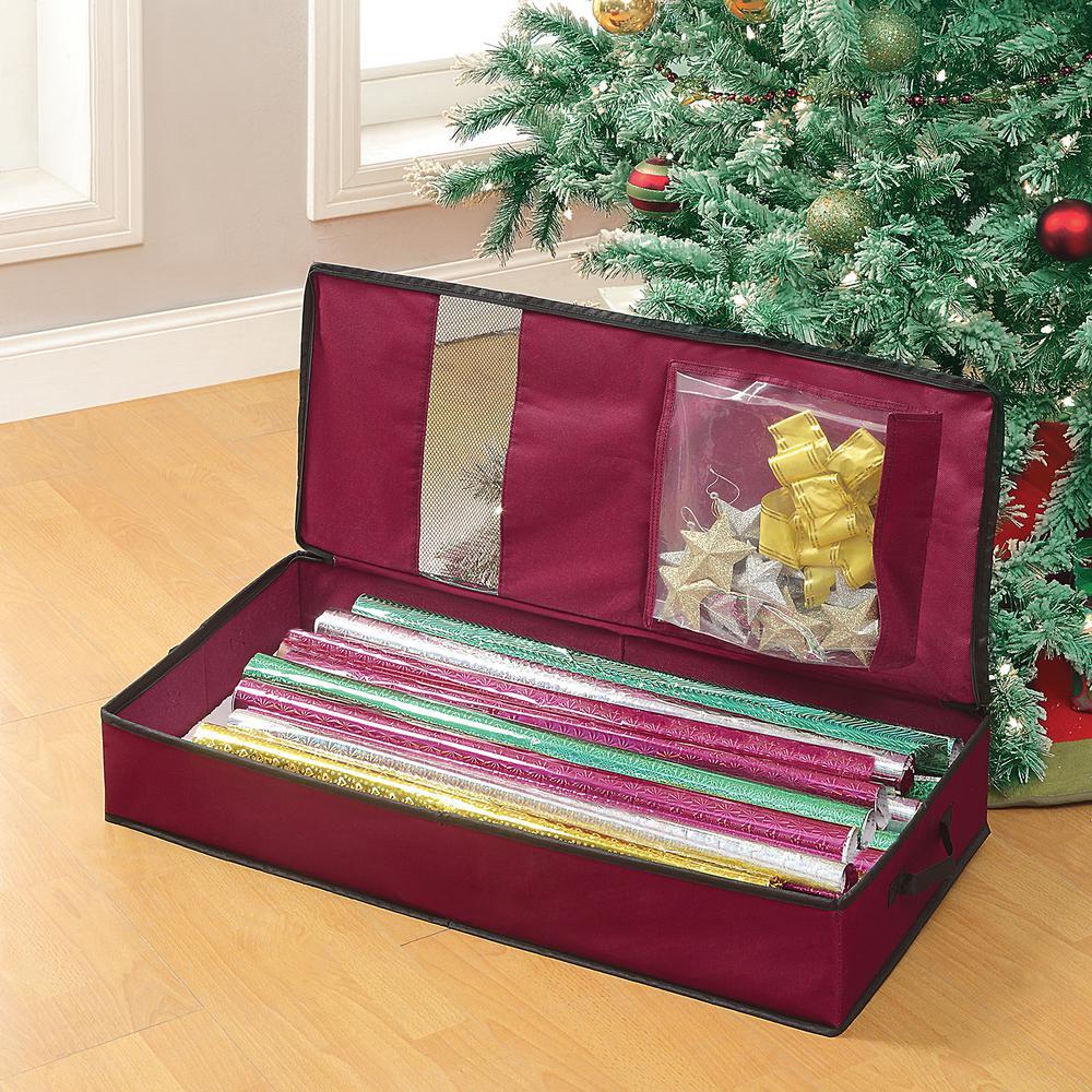 Gift Wrap Organizer