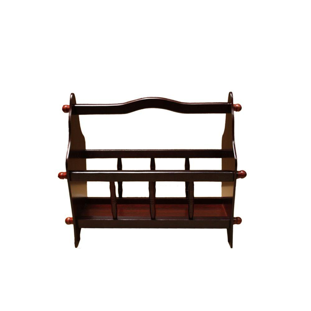 14 in. Magazine Rack-JW-110 - The Home Depot