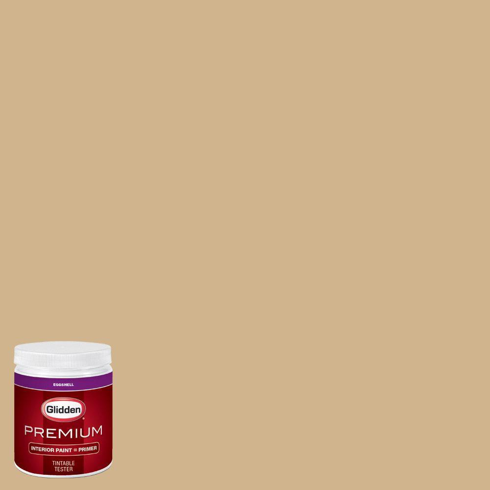 Glidden Bathroom Paint: Glidden Premium 8 Oz. #HDGY24 Golden Rice Eggshell