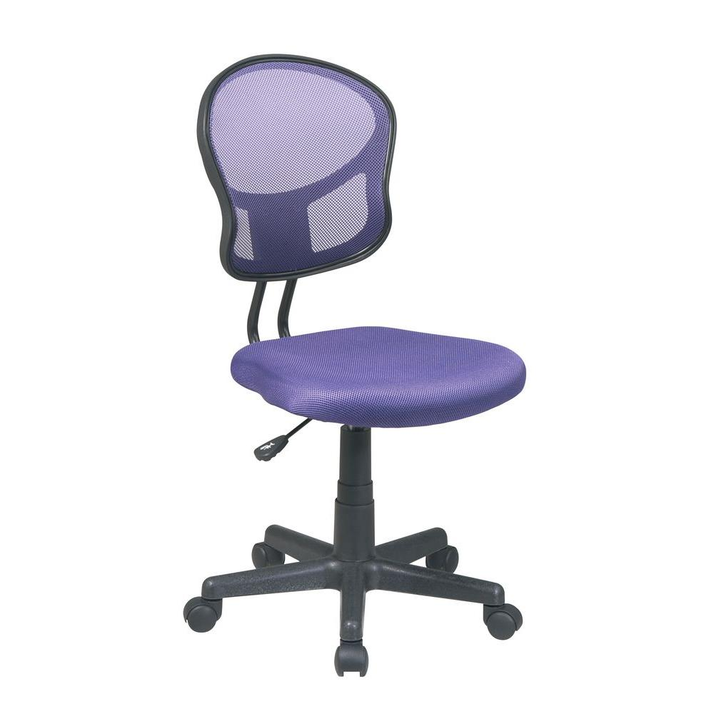 Ospdesigns Purple Office Chair
