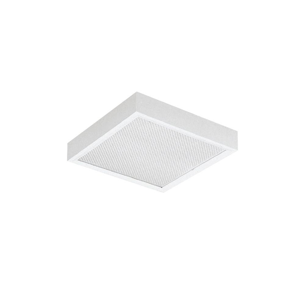 Home Depot Emergency Lights: Lithonia Lighting 6-Volt White Square Emergency Lighting