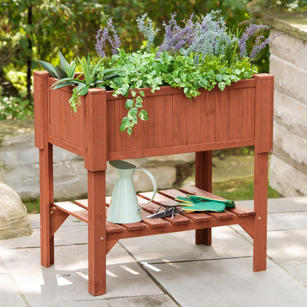 Merveilleux Leisure Season 36 In. X 24 In. X 36 In. Raised Garden Planter