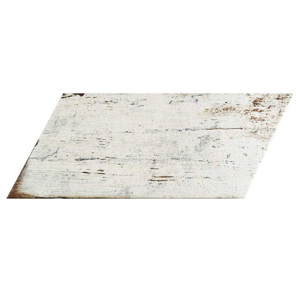merola tile retro naveta blanc 7 1 8 in x 16 3 8 in. Black Bedroom Furniture Sets. Home Design Ideas