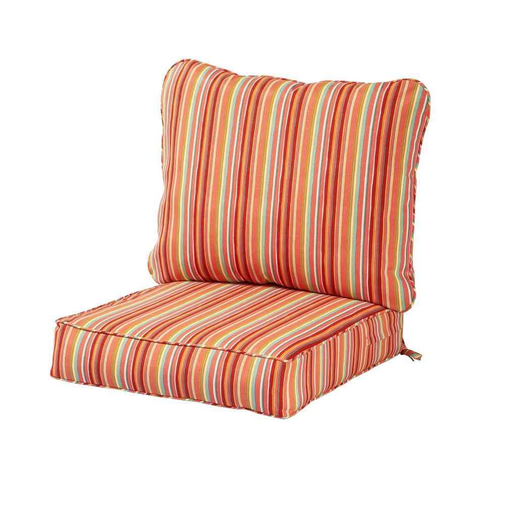 Phenomenal Orange Outdoor Chair Cushions Outdoor Cushions The Beutiful Home Inspiration Xortanetmahrainfo