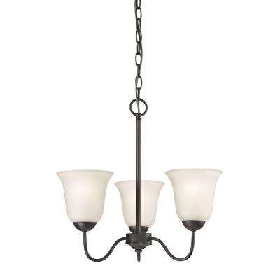 Conway 3-Light Oil-Rubbed Bronze Chandelier