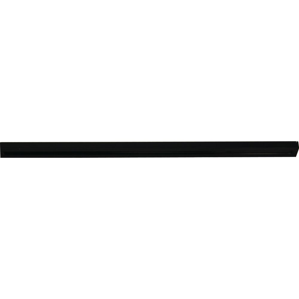 Volume Lighting 6 ft. Black Linear Track Lighting Section/1-Circuit 1-Neutral 120-Volt Track System