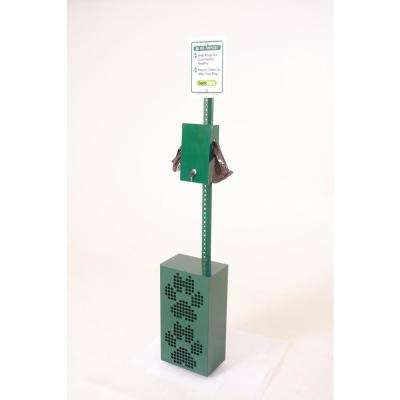 12-Gal. Commercial Pet Waste Station with Bag Dispenser