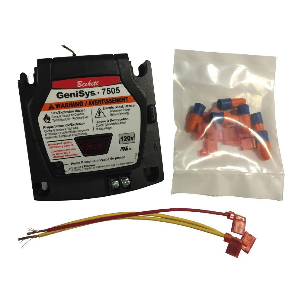 Electronic Oil Igniter51771u The Home Depot. Genisys Advanced Burner Control. Wiring. Beckett Oil Burner Control Wiring Diagram 7505 At Scoala.co