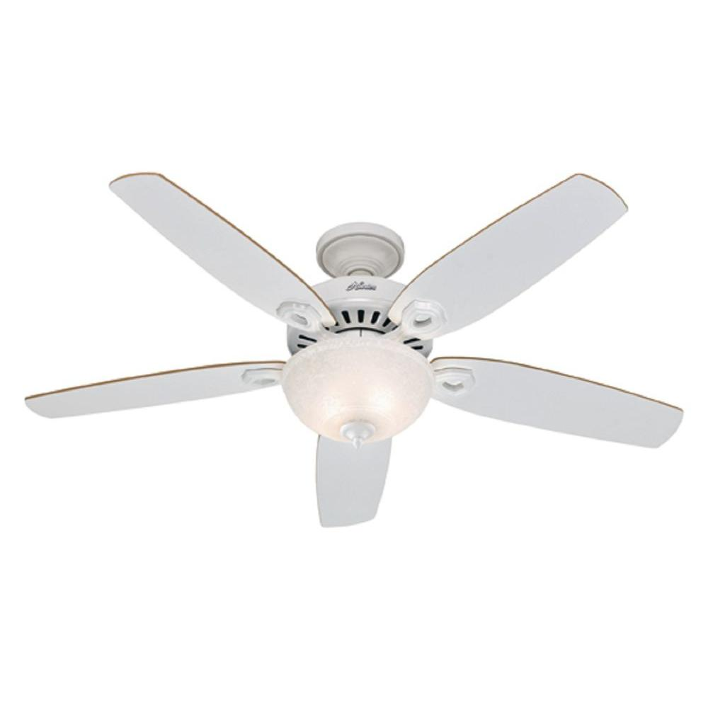 Hunter Claremont 52 in. White Ceiling Fan -DISCONTINUED