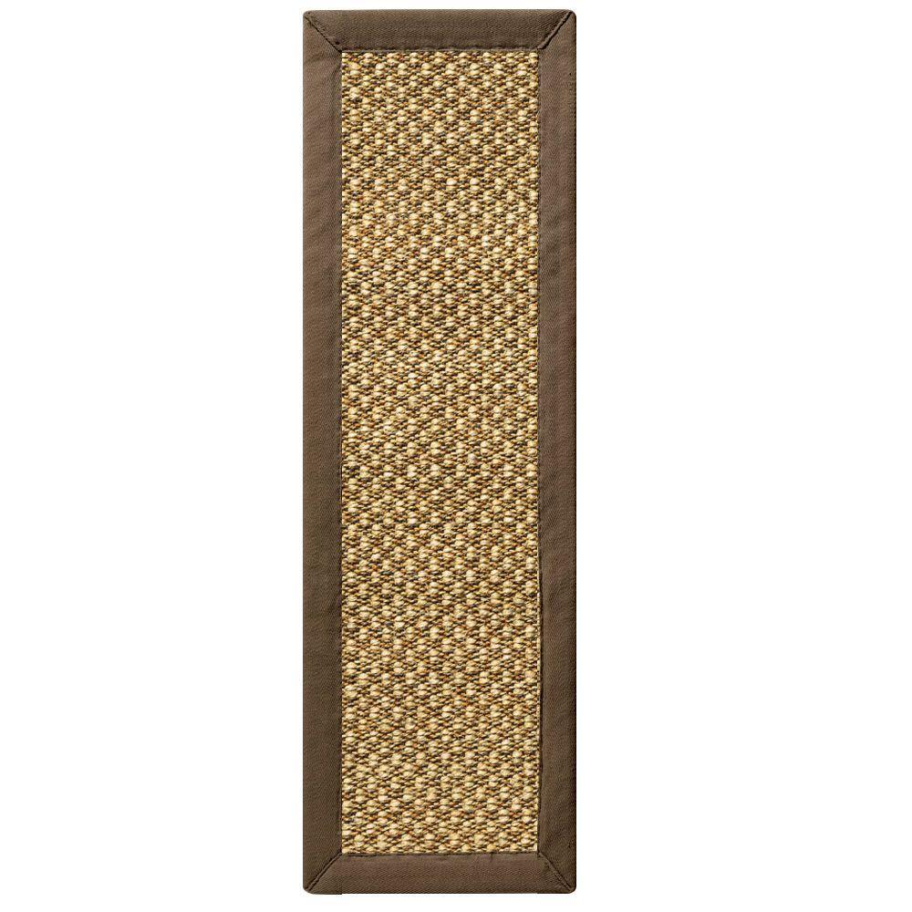 Adirondack Chocolate 2 ft. 6 in. x 12 ft. Rug Runner