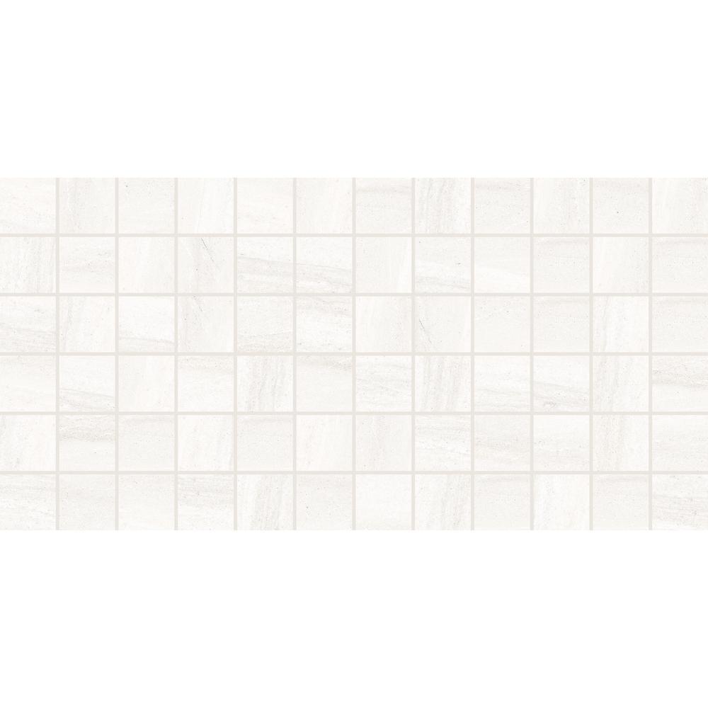 Fairfield White Matte 12 in. x 24 in. x 6.35 mm