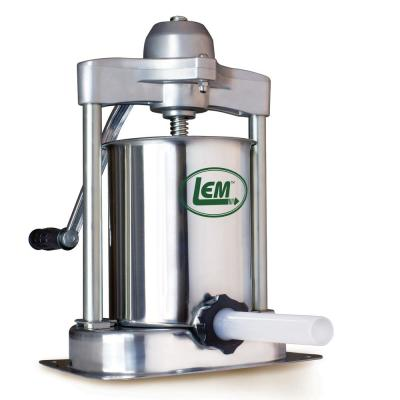 Mighty Bite 15 lbs. Stainless Steel Vertical Sausage Stuffer